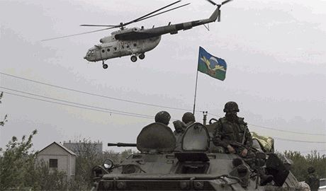 Силы АТО атаковали Донецк с севера и заняли Ясиноватскую развязку