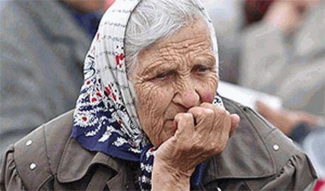 В оккупированном террористами г. Красный Луч, жители начали умирать от голода
