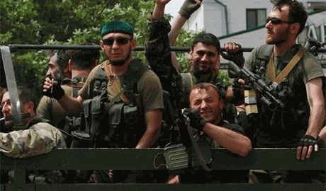 В Молодогвардейск прибыло несколько сотен «вооруженных до зубов» кавказских наемников