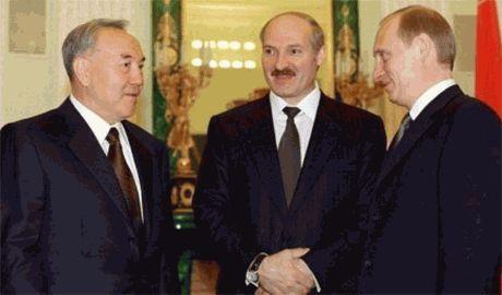 """""""Три богатыря"""": Путин, Назарбаев и Лукашенко обсудили партнерство в свете новых санкций ЕС и США"""