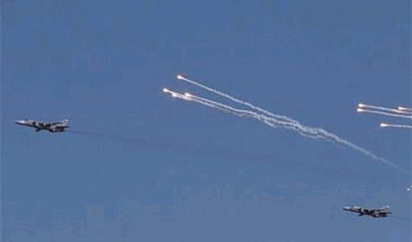 Авиация сил АТО нанесла мощный удар по штабу террористов