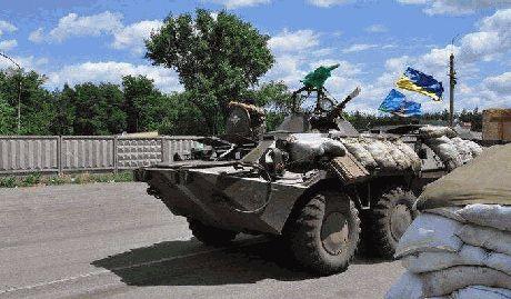 Луганск практически окружен, у террористов осталась единственная лазейка