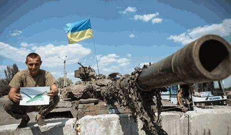 Силовики вошли в Донецк