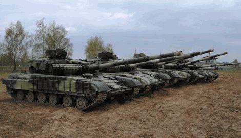 Танковое подразделение РФ войдя на территорию Украины перешло на сторону ВСУ
