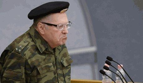 Жириновский собрался лично ехать убивать украинцев ФОТО