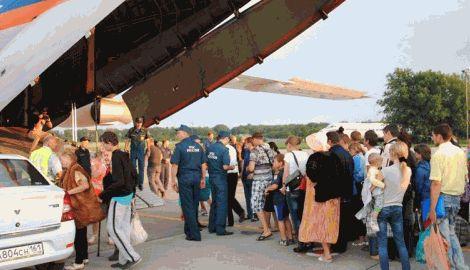 Беженцы из Донбасса устроили демарш против переселения их на Урал