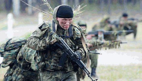 Элитный спецназ ГРУ РФ, пытается взять Донецкий аэропорт