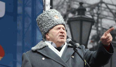 Жириновский требует признать Украину страной-агрессором