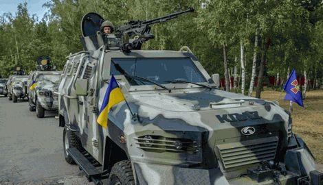 Сообщение о захвате автомобилей типа «Когуар» террористами, является дезинформацией, — Нацгвардия