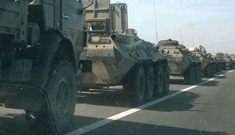 Военная техника РФ покидает Донбасс, — блогер