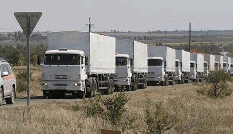 Четвертый гуманитарный конвой Путина уже готовится к отправке в Донбасс