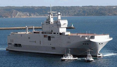 В НАТО решили, что РФ не стоит вообще продавать «Мистрали»