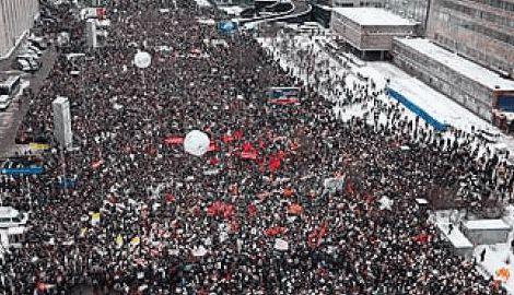 В Москве митинг против политики Путина может собрать 50 тысяч россиян
