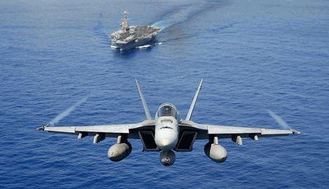 США потеряло два истребителя над тихим океаном