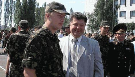 Старший сын президента Украины воюет на Донбассе