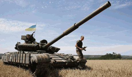 В связи с выравниванием фронта часть Донбасса перешла под контроль боевиков и оккупационных войск РФ