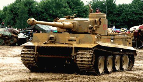 """Миф российской пропаганды о фашисто-бандеровцев рухнул, у боевиков на вооружении появился немецкий танк """"Тигр"""""""