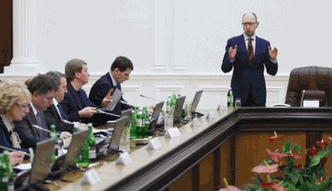 Ми делаем все, чтобы мирно урегулировать конфликт, но наши возможности не безграничны — Яценюк