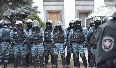 "Луганский ""Беркут"" перешел на сторону террористов"