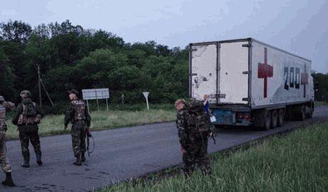 Из Украины в Россию отправились еще 52 КамАЗа с грузом-200