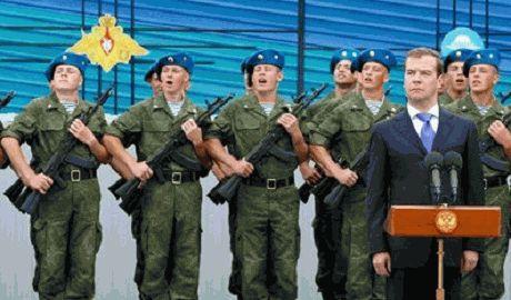 Россия перебрасывает десантно-штурмовые бригады на восток