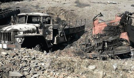 Под Иловайском найдены тела украинских десантников