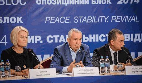 """""""Оппозиционный блок"""" уже хочет в коалицию"""