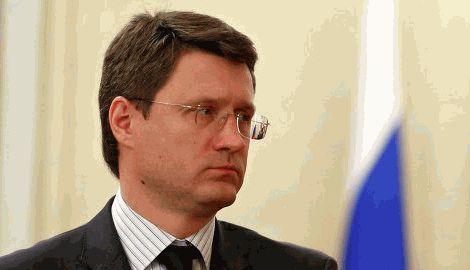 Министр энергетики РФ пригрозил ЕС, в случае реэкспорта газа Украине, вообще перекрыть поставки голубого топлива