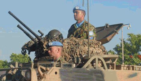 ООН может ввести на Донбасс миротворческие войска
