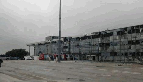 """Боевики """"ДНР"""" успели заявить о взятии под контроль нового терминала Донецкого аэропорта, до того как получили на орехи от ВСУ"""