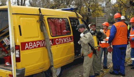 В результате боев в Донецке поврежден газопровод