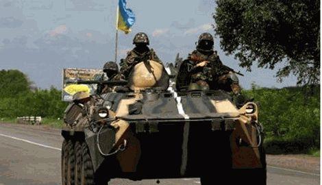 Черный понедельник, в результате прямого попадания в БТР с Танка, 7 бойцов 79-й бригады погибли, 9 ранены