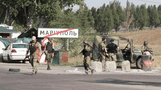 Порошенко в угоду запада, запретил силовикам в Мариуполе открывать огонь даже в ответ