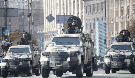 В 2015 году на перевооружение армии потратят 10 миллиардов гривен