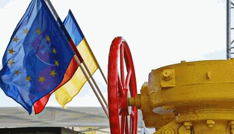 Не смотря на 20% снижение объемов газа из РФ, Словакия продолжает поставлять голубое топливо Украине