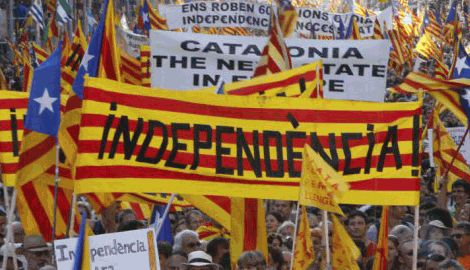 Каталонцы анонсировали майдан в Испании, с требованием провести референдум о независимости