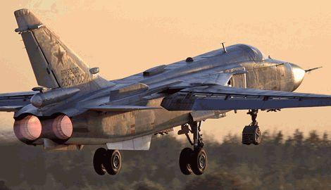 Израильские ПВО сбили российский бомбардировщик Су-24