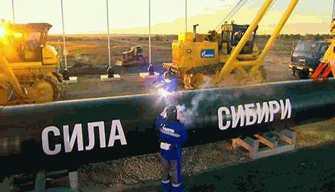 """Китай решил не принимать участия в строительстве газопровода """"Сила Сибири"""""""