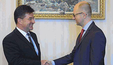 Глава Украинского правительства провел встречу с вице-премьер-министром Словакии Мирославом Лайчака