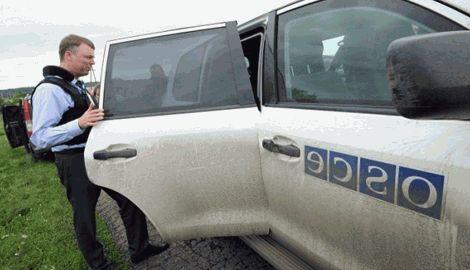 Под Мариуполем волонтер поймала «на горячем» представителя ОБСЕ