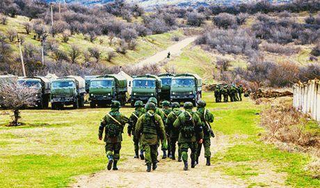 Госпогранслужба отмечает наращивание ударной группировки ВС РФ на Ростовском и Крымском направлении