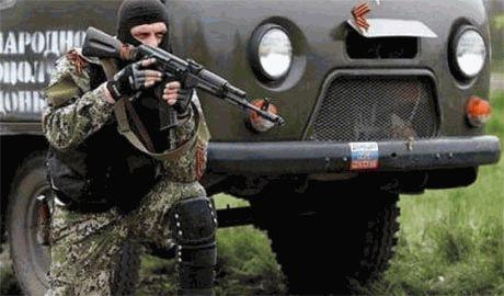 Боевики переодевшись в униформу войск РФ начали прорыв на Васильевку