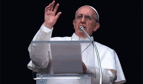Вооруженный конфликт в Украине Папа Франциск назвал «третьей мировой войной»