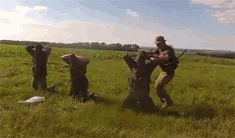 Насмотревшись на «Русский мир», лисичанские террористы решили, что с них «хватит» и решили сдаться силам АТО