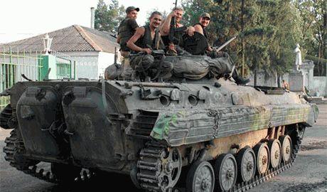Бойцы роты «Харьков-2» в Славянске поймали лазутчика ДНР