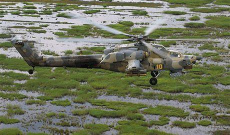 Российские боевые вертолеты устроили настоящую «парковку» в г. Червонопартизанск