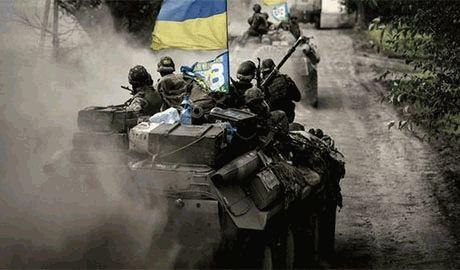 Украинские бойцы АТО уничтожили танк террористов – волонтер
