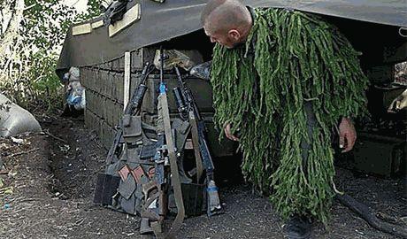 """Батальон """"Айдар"""" и спецназ СБУ уничтожили базу подготовки диверсантов ДНР. Захвачено много оружия российской маркировки"""