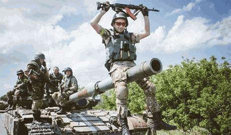 Боец батальона «Киевская русь» захватил танк боевиков и помог подразделению отбить блок-пост под Дебальцево
