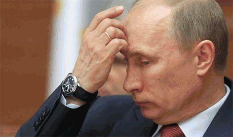 """""""Черный понедельник"""" Путина"""